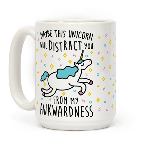 Maybe This Unicorn Will Distract You