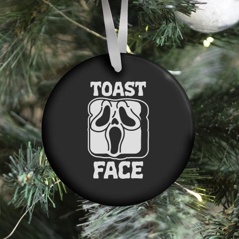 Toast Face Ornament