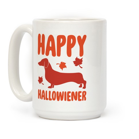 Happy Hallowiener Dachshund Parody  Coffee Mug