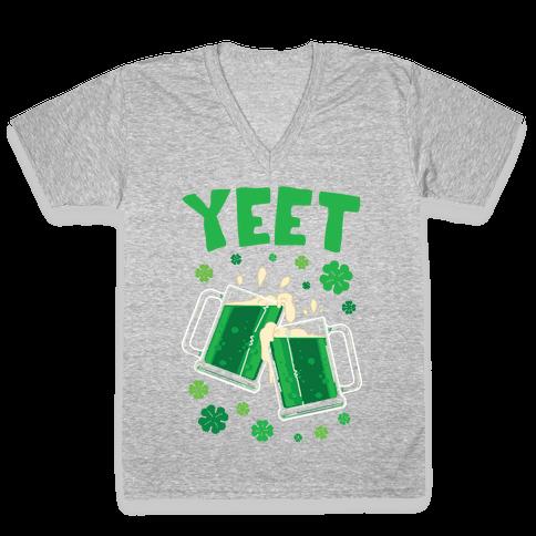YEET V-Neck Tee Shirt