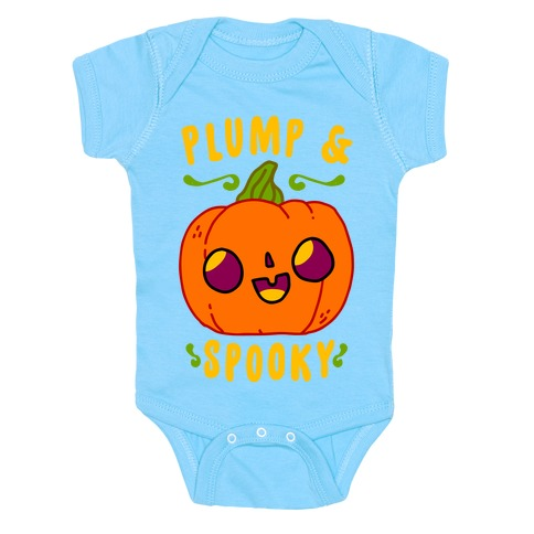 Plump and Spooky Baby Onesy
