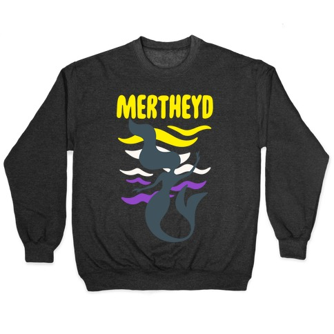 Mertheyd White Print Pullover