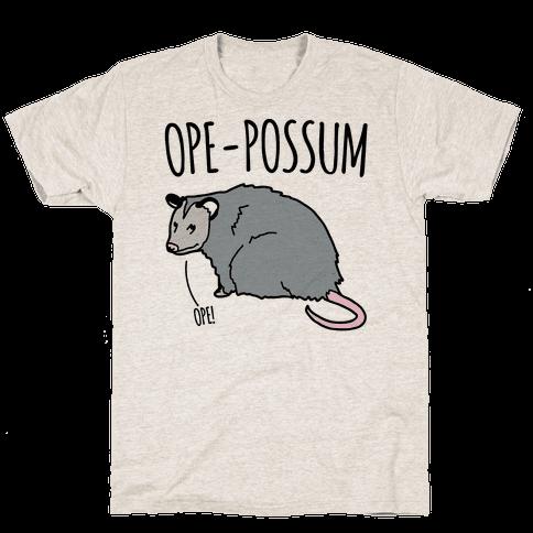Ope-Possum Opossum Mens T-Shirt