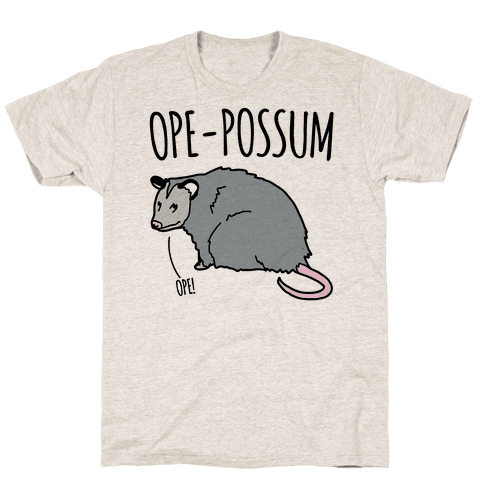 Ope-Possum Opossum Mens T-Shirt