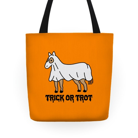 Trick Or Trot Tote