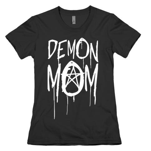 Demon Mom Womens T-Shirt