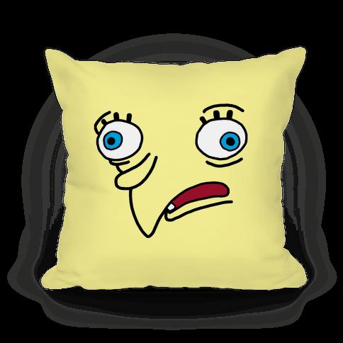 Design Sponge Throw Pillows : Mocking Sponge - Throw Pillow - HUMAN