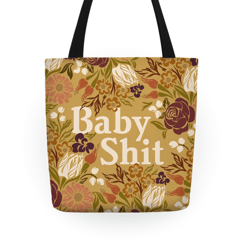 Baby Shit Tote