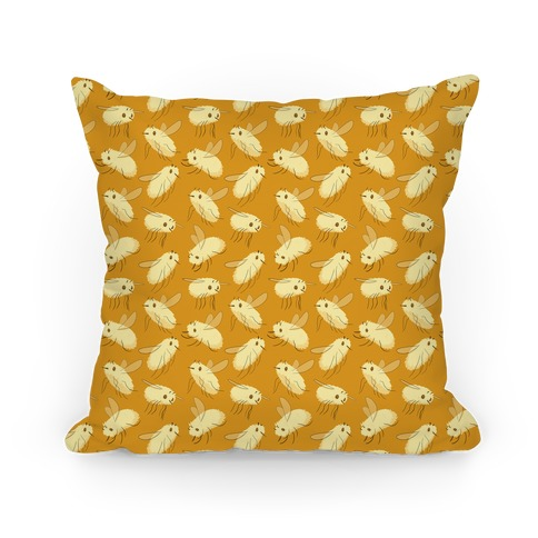 Bee Fly Pattern Pillow