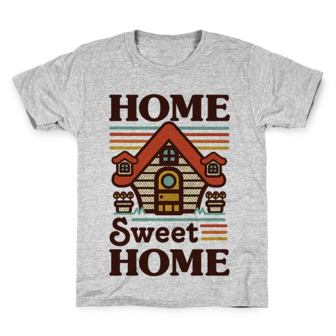 Home Sweet Home Animal Crossing Kids T-Shirt