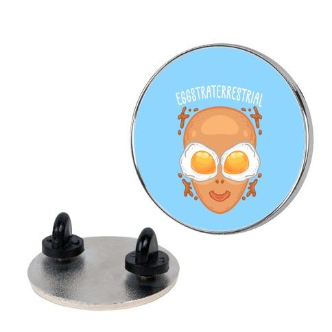 Eggstraterrestrial Pin
