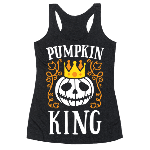 Pumpkin King Racerback Tank Top