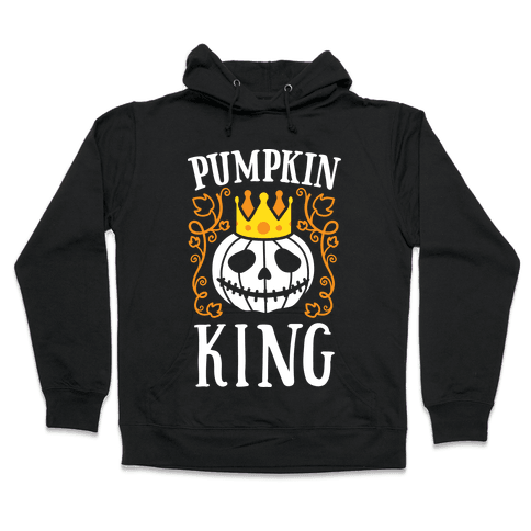 Pumpkin King Hooded Sweatshirt