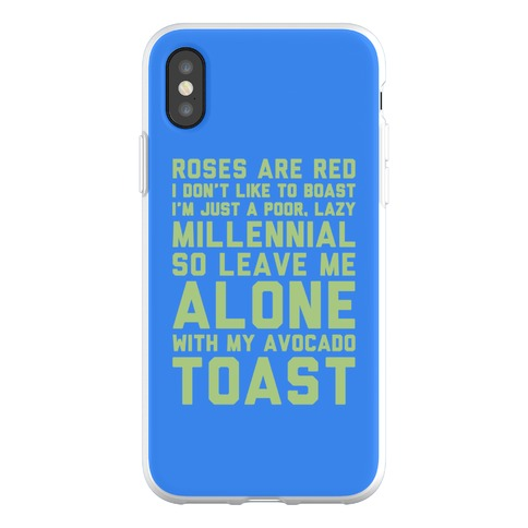 Millennial Poem Phone Flexi-Case
