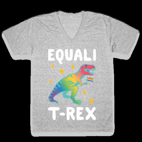 EqualiT-Rex V-Neck Tee Shirt