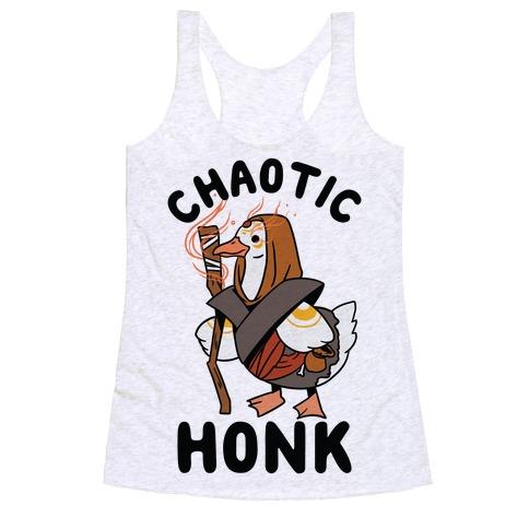 Chaotic Honk Racerback Tank Top