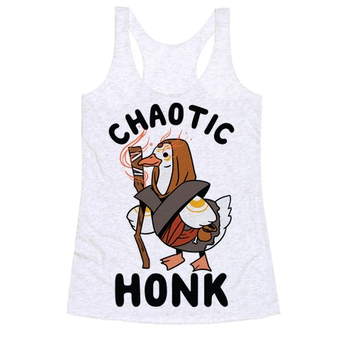 Chaotic Honk Racerback Tank Top