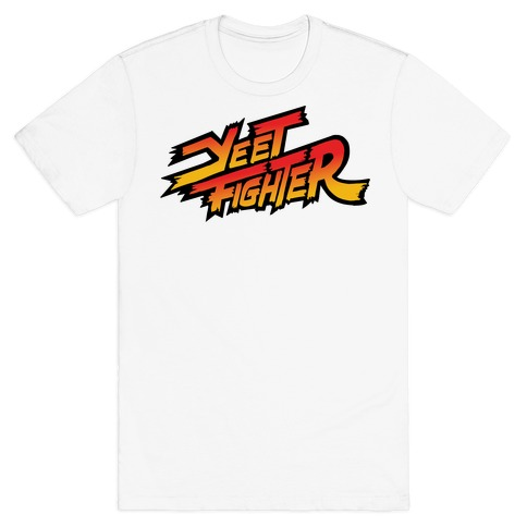 Yeet Fighter Parody T-Shirt