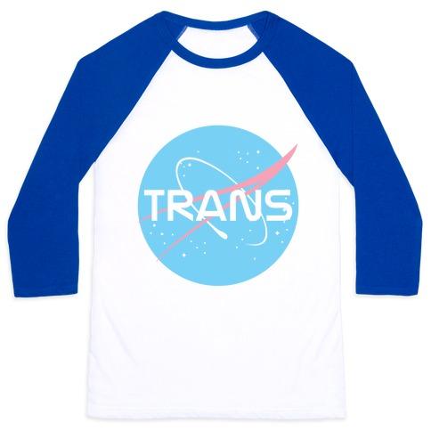 Trans Nasa Baseball Tee
