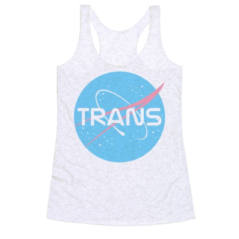 Trans Nasa Racerback Tank Top