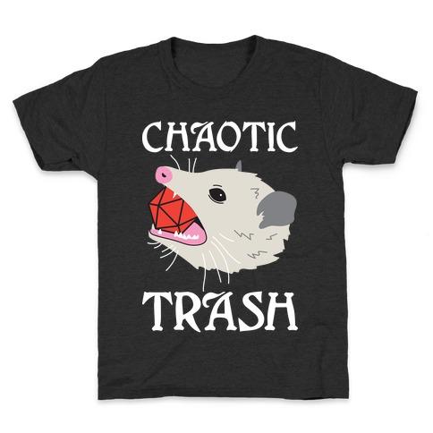 Chaotic Trash (Opossum) Kids T-Shirt