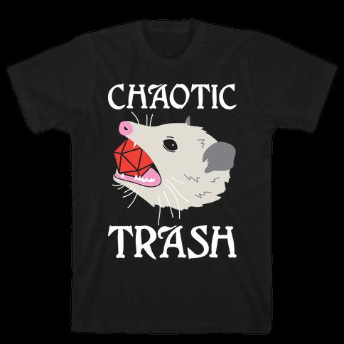 Chaotic Trash (Opossum) Mens/Unisex T-Shirt