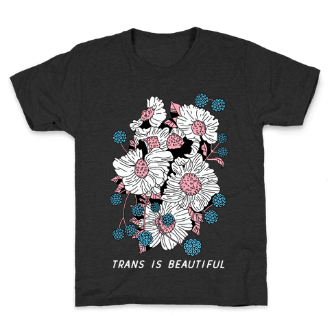 Trans is beautiful Kids T-Shirt