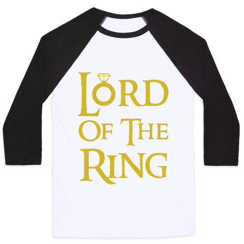 Lord of the Ring Baseball Tee