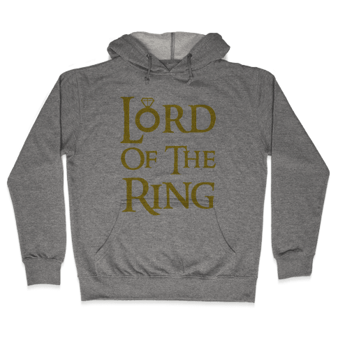 Lord of the Ring Hooded Sweatshirt