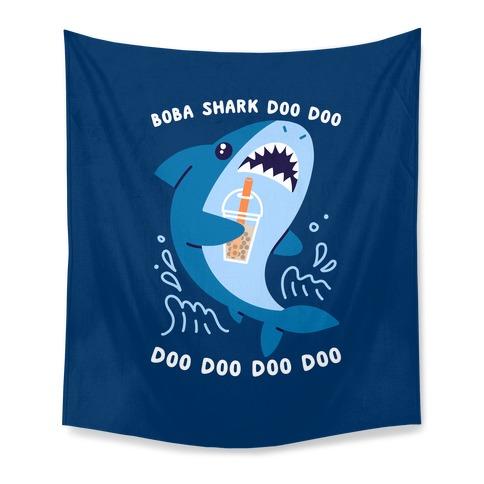 Boba Shark Tapestry
