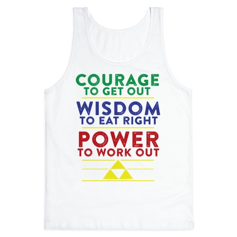 Triforce of Fitness Tank Top