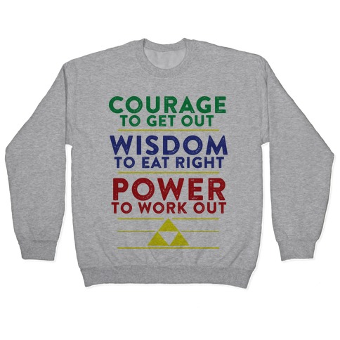 Triforce of Fitness Pullover