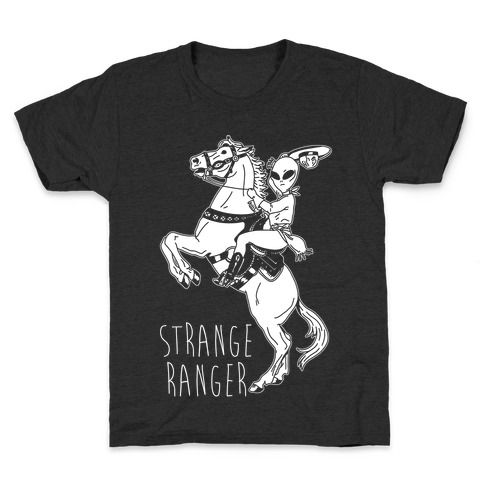 Strange Ranger Cowboy Alien Kids T-Shirt