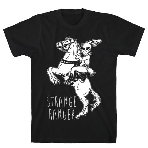 Strange Ranger Cowboy Alien T-Shirt