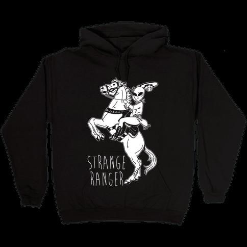 Strange Ranger Cowboy Alien Hooded Sweatshirt