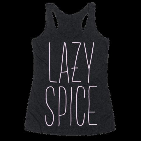 Lazy Spice Racerback Tank Top