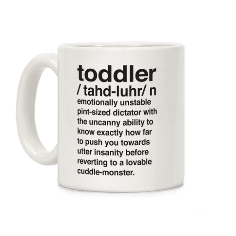 Toddler Definition Coffee Mug