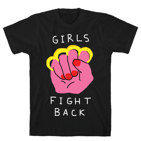 Girls Fight Back Mens T-Shirt