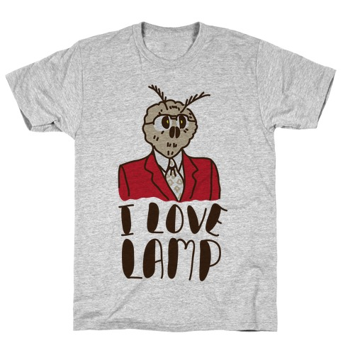 Moth Loves Lamp T-Shirt