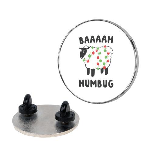 Baaaaah Humbug pin