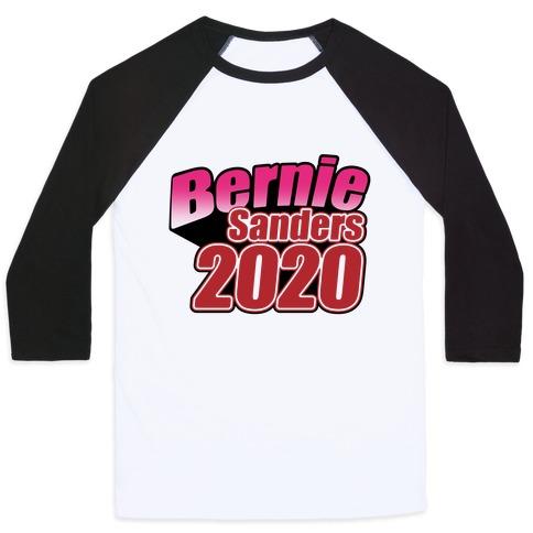 Bernie Sanders 2020 Jojo's Bizarre Adventure Parody Baseball Tee