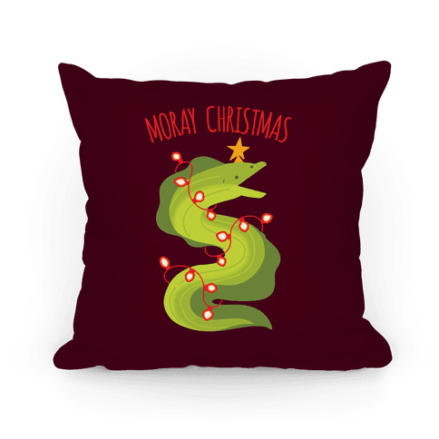 Moray Christmas Pillow