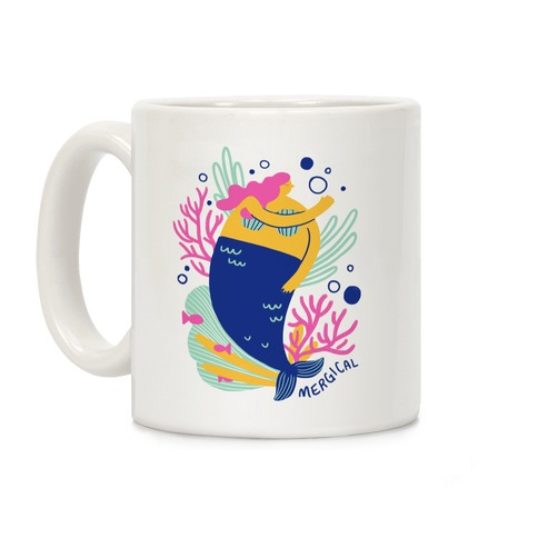 Mergical Mermaid Coffee Mug