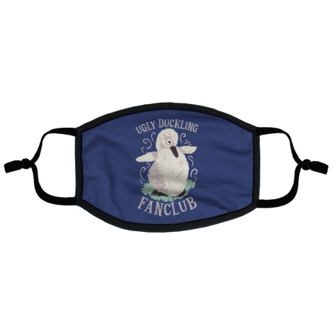 Ugly Duckling Fanclub Flat Face Mask