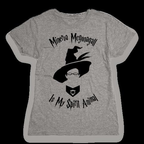 Minerva Mcgonagall Is My Spirit Animal Womens T-Shirt