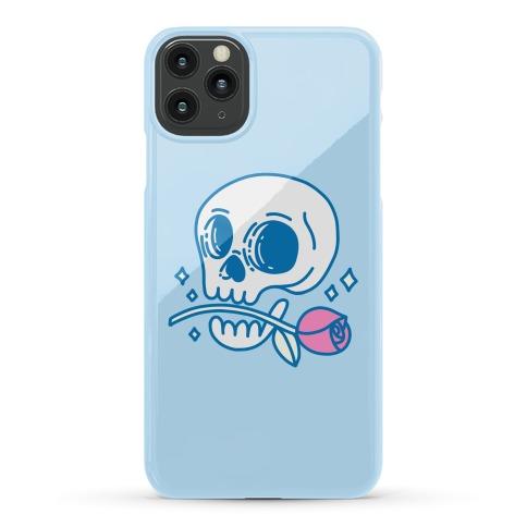 Hopeless Romantic Skull Phone Case