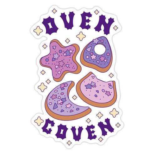 Oven Coven Die Cut Sticker