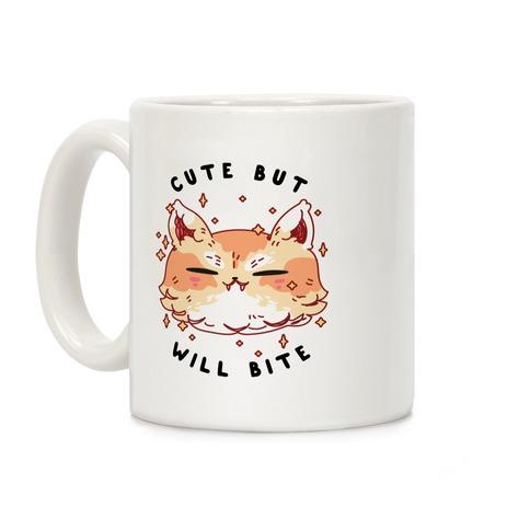 Cute But Will Bite Coffee Mug