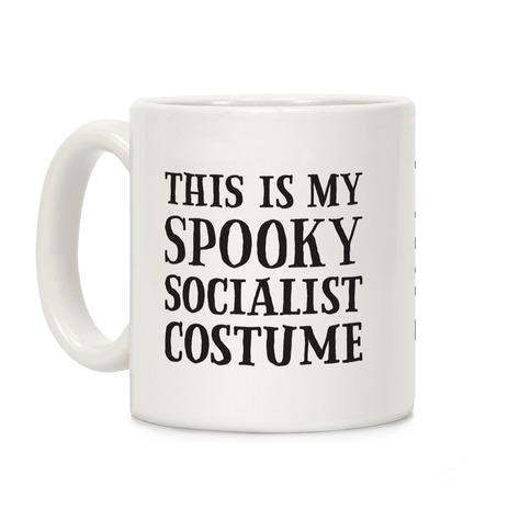 This Is My Spooky Socialist Costume Coffee Mug