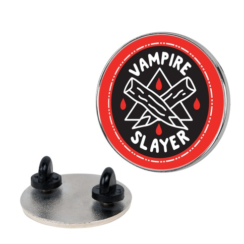 Vampire Slayer Culture Merit Badge Pin